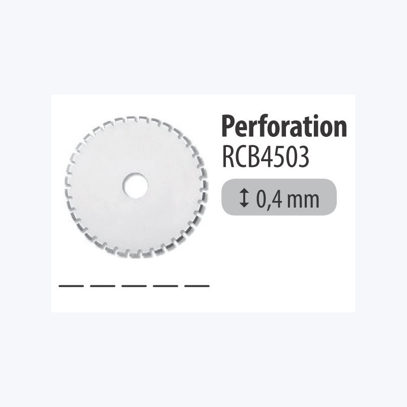 Lame 45mm perforation - Pack 1 pièce