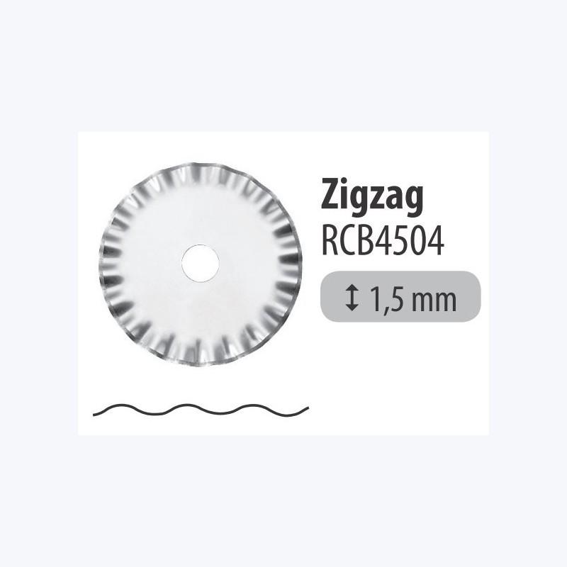 Lame 45mm ZigZag- Pack 1 pièce