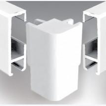 Cimaises Multirail Eclairage - Raccord d'angle