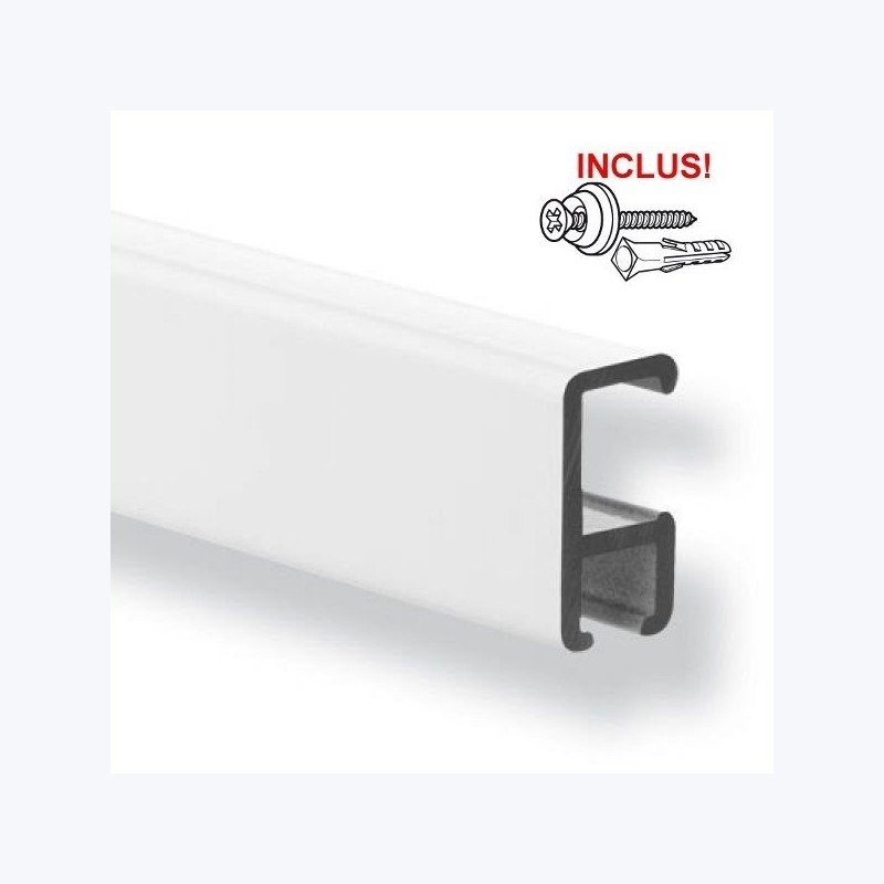 Rail Minirail de 200cm (fixation incl.)