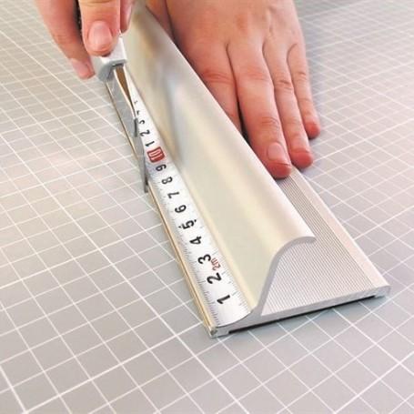 Règle alu 105cm pro à protection