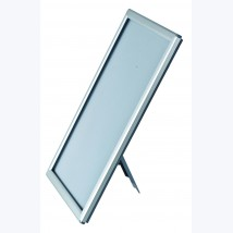 Cadre clic clac alu avec dos chevalet A5+15x21cm