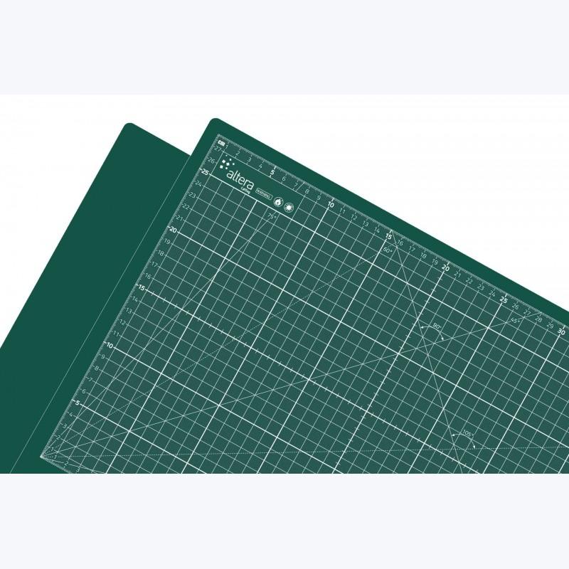 100x200cm - Tapis de découpe auto-cicatrisant grand format 100x200cm (PRO Vert)
