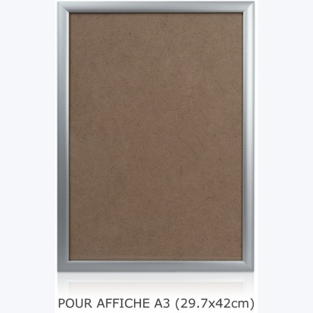 Cadre alu complet - Affiche A3