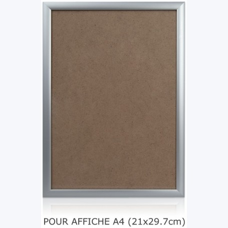 Cadre alu complet - Affiche A4