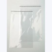 Pochette transparente adhésive 20x30cm (brut 21x31cm)