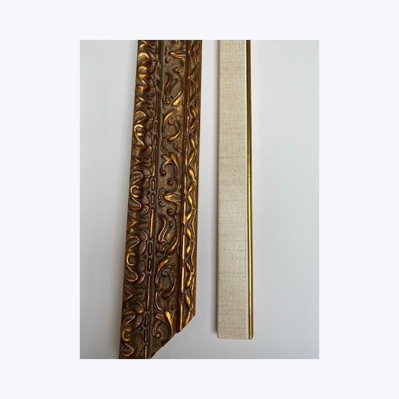 Cadre pour toile vide , avec marie-louise - Format 50x40cm
