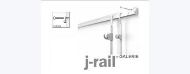 Cimaise J-Rail Galerie